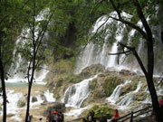 Wasserfall in China